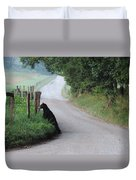 Lost Bear Cub In Cades Cove Duvet Cover