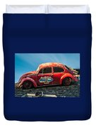 Lost Beetle Duvet Cover