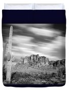 Lost Dutchman State Park - Arizona Duvet Cover