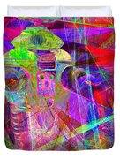 Lost In Abstract Space 20130611 Duvet Cover