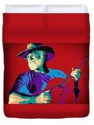 Jack Pop Art Duvet Cover