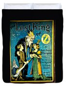 Lost King Of Oz Duvet Cover