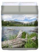 Lost Lake Colorado II Duvet Cover