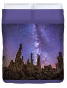 Lost Planet Duvet Cover