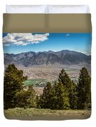 Lost River Mountains Duvet Cover