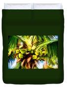 Lots Of Coconuts Duvet Cover