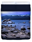 Lots Of Rocks Duvet Cover