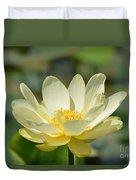 Lotus Blooming  Duvet Cover