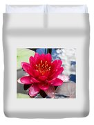 Lotus Cloud Duvet Cover
