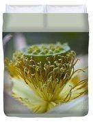 Lotus Detail Duvet Cover