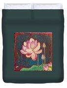 Lotus Dream Duvet Cover