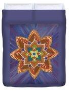 Lotus Flower 2 Duvet Cover