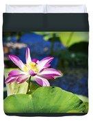 Lotus Flower V6 Duvet Cover