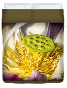 Lotus Heart Duvet Cover
