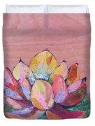 Lotus I Duvet Cover