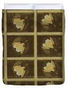 Lotus In 16 Bits Duvet Cover