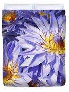 Lotus Light - Hawaiian Tropical Floral Duvet Cover