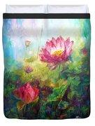 Lotus Light Duvet Cover
