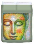 Lotus Meditation Buddha Duvet Cover