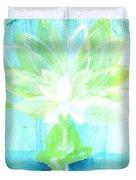 Lotus Petals Awakening Spirit Duvet Cover by Ashleigh Dyan Bayer