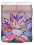 Lotus V Duvet Cover