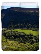 Lough Tay Below Luggala Mountain Duvet Cover