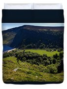 Lough Tay Below Luggala Mountain Duvet Cover