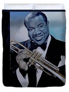Louis Armstrong Duvet Cover