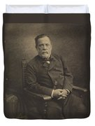 Louis Pasteur Duvet Cover