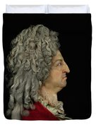 Louis Xiv 1638-1715 1706 Mixed Media Duvet Cover