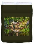 Louisiana Bayou 2 - Paint Duvet Cover