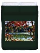 Louisiana Fall Duvet Cover