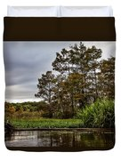 Louisiana Landscape Duvet Cover