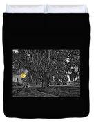 Louisiana Moon Rising Monochrome 2 Duvet Cover