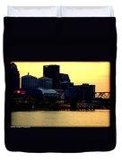 Louisville Lights Duvet Cover