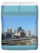 Louisville Skyline  Duvet Cover