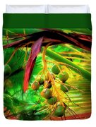 Loulu Palm Duvet Cover