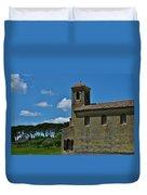 Lourmarin Castle Duvet Cover