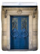 Louvre Doorway - Paris Duvet Cover
