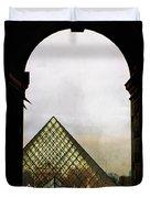 Louvre Paris Duvet Cover