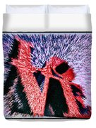 Love Abstract Duvet Cover