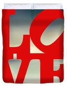 Love Beach Duvet Cover