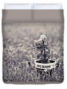 Love Blooms Duvet Cover
