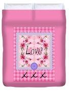 Love Cherry Blossom Duvet Cover