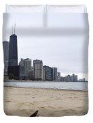 Love Chicago Duvet Cover