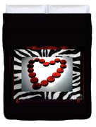 Love Comes Over You Duvet Cover