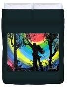 Love Energy Duvet Cover