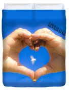 Love Eternally.... Duvet Cover