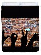 Love Hands Duvet Cover