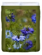Love In A Mist Duvet Cover